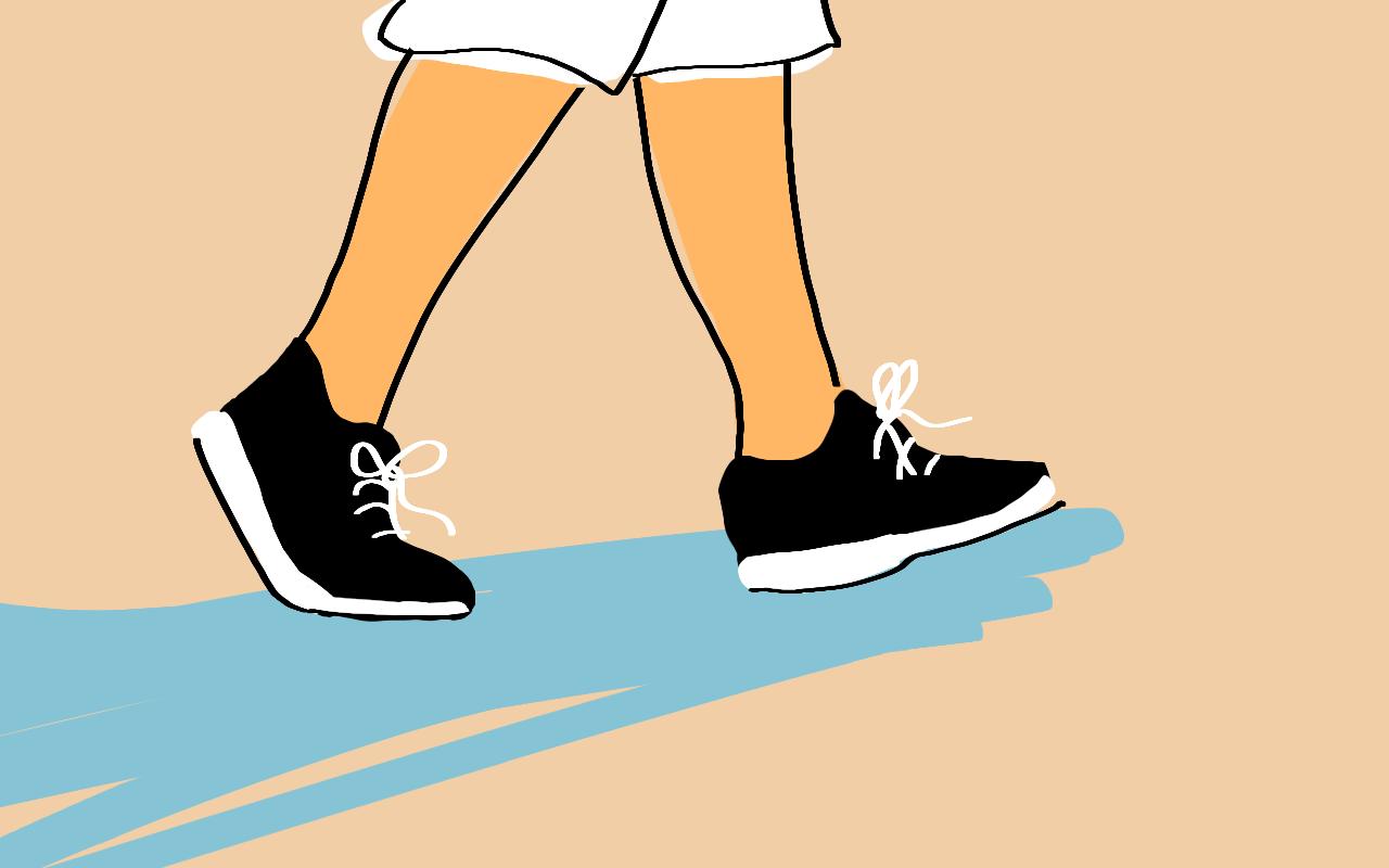 brisk walks