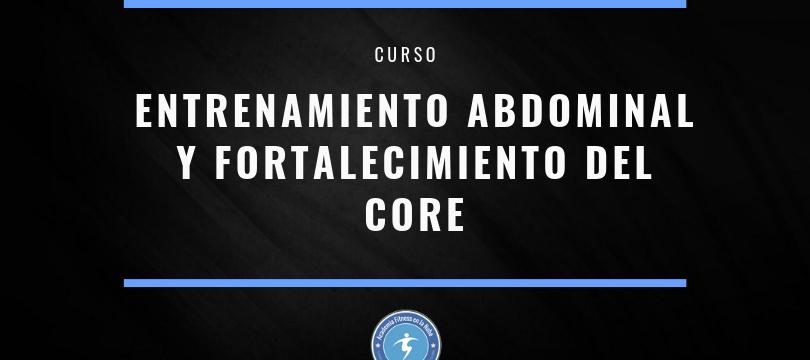 curso entrenamiento abdominal y fortalecimiento del core