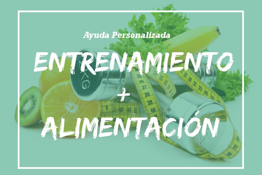 pack Entrenamiento + Alimentación