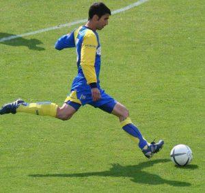 lanzamiento de futbol