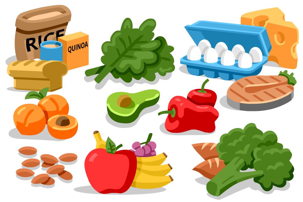 alimentos para crear un plan de alimentacion